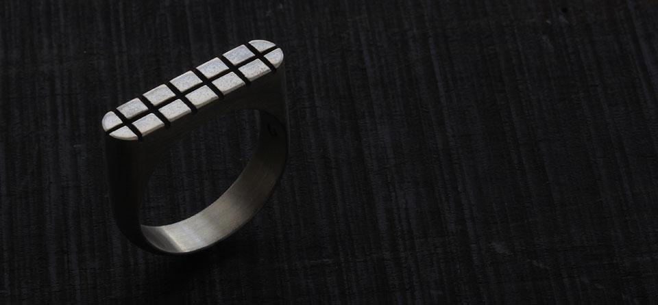square stamp ring